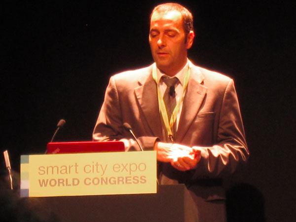 David Johera expone la visión Wonderware de Smart City